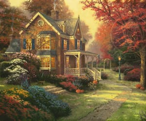 autumn, classic, and victorian image