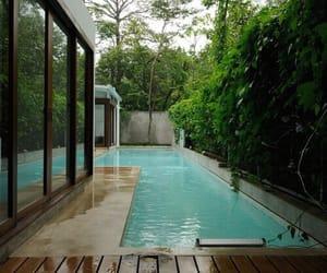 pool, house, and luxury image
