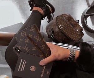 Louis Vuitton, airport, and luxury image