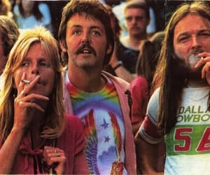Paul McCartney, david gilmour, and Pink Floyd image