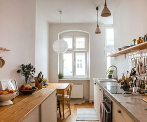 apartment, ikea, and kitchen image
