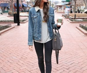 jeans and winter image