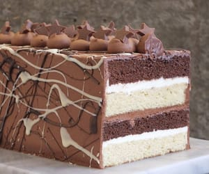 bakery, cake, and chocolate image