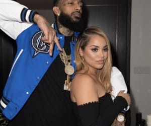couple, lauren london, and love image