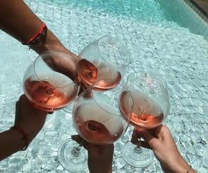 bali, drinks, and pool image
