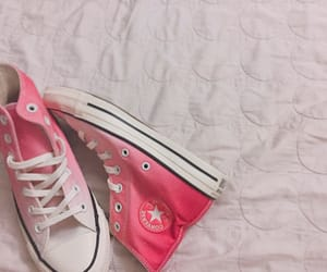 converse, pink, and 핑크 image