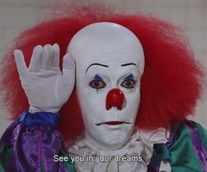 clown, it, and Dream image