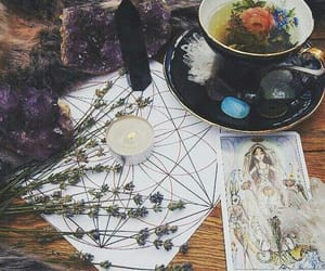 ritual, tarot, and witch image