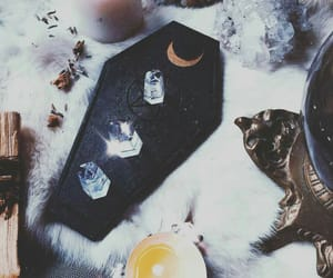 ritual, witch, and christal image