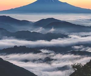 landscape, nature, and sunset image