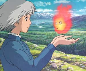 howl's moving castle, sophie, and studio ghibli image