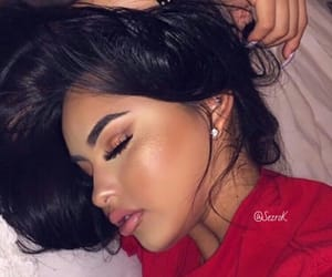 beauty, dormir, and makeup image