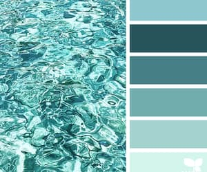 aesthetics, aqua, and color image