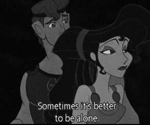 alone, quotes, and disney image