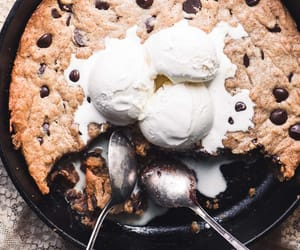 food, icecream, and love image