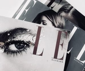 magazine, Elle, and fashion image