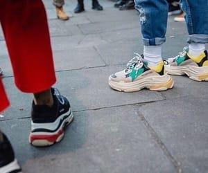 Balenciaga, fashion, and jean image