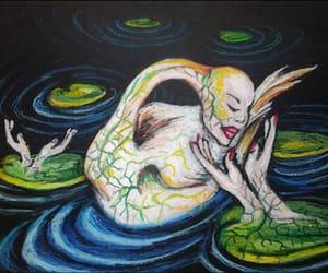 drawing, surrealism, and milena olesinska image