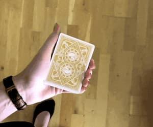 card, fun, and illusion image