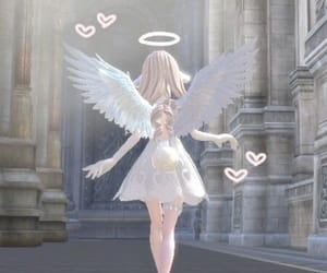 angel, soft, and cute image