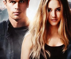 Shailene Woodley, divergente, and theo james image
