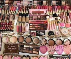 makeup, too faced, and lipstick image