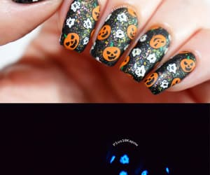 ghosts, glitter, and Halloween image