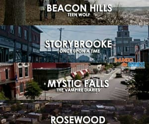 once upon a time, teen wolf, and rosewood image