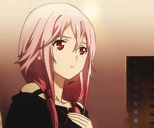 gif, guilty crown, and inori image
