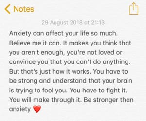 anxiety, fight, and mind image