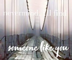 Adele, someone like you, and Lyrics image