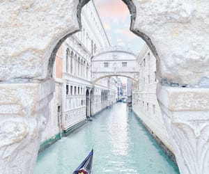 travel, white, and venice image