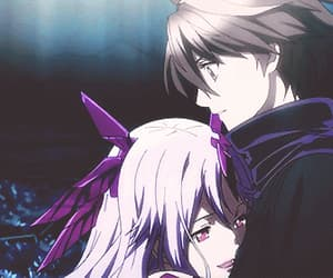 gif, guilty crown, and mana image