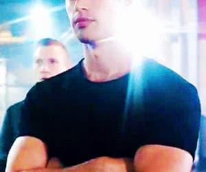 gif, theo james, and divergent image