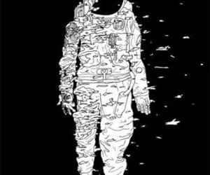 Lost in Space, spaceman, and moon image