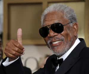 actor, morgan freeman, and freeman image