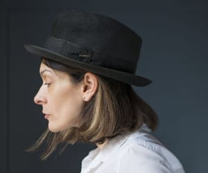 etsy, sustainable hat, and size 57 trilby hat image