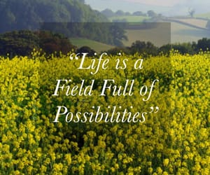 field, inspiring, and possibilities image