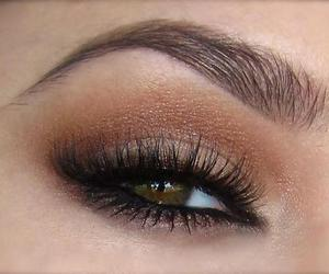 eyes, fashion, and makeup image