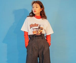 aesthetic, korean outfit, and asia image