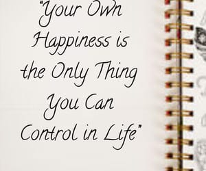 happiness, inspiring, and notebook image