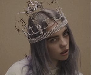 crown and billie eilish image