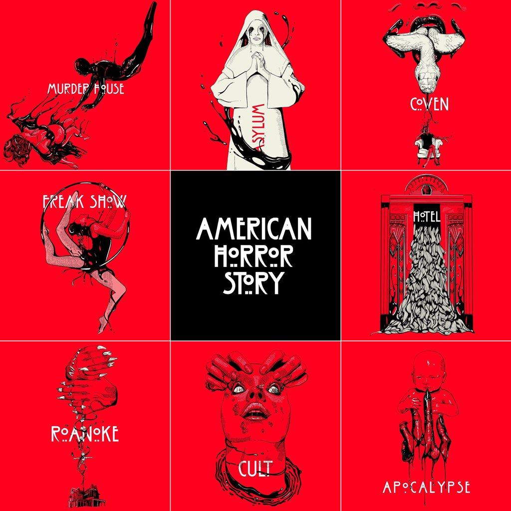 all the seasons of american horror story