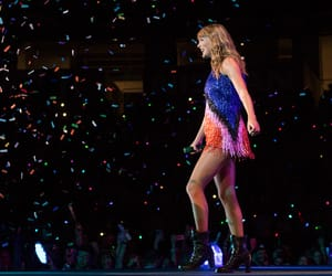 confetti, crowd, and nashville image