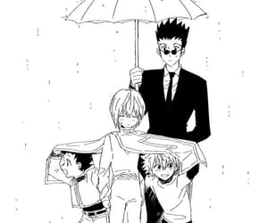 hxh, leorio, and killua image