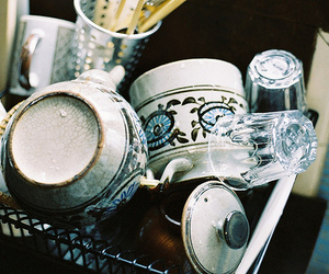 photography, vintage, and dishes image