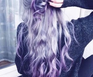colored, hairstyles, and colored hair image