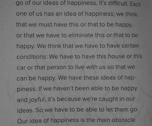 happiness, let go, and true happiness image