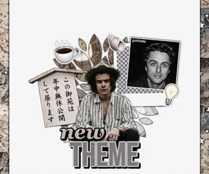 billie joe armstrong, theme, and Harry Styles image