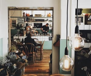 cafe, chic, and city life image